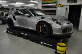 Porsche GT 3 RS silber-grau