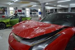 Steinschlagschutz XPEL ferrari 458 Rot Rudnik